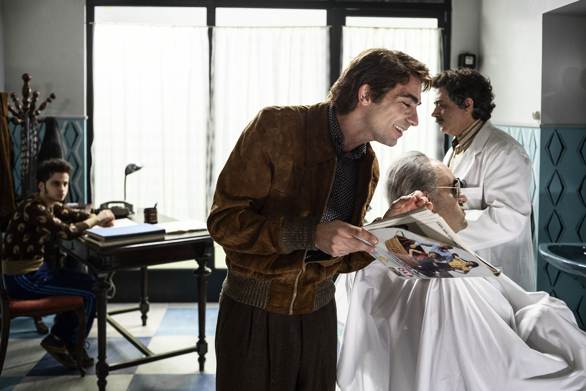 La trattativa: Sabino Civilleri con Franz Cantalupo in una scena del film di Sabina Guzzanti