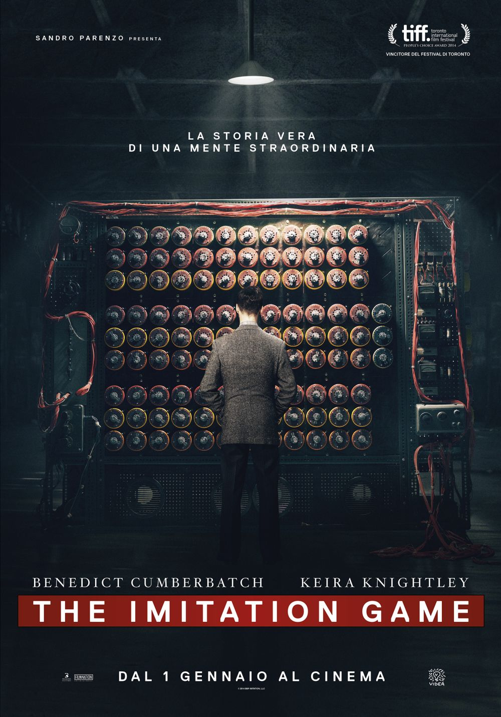 Locandina italiana di The Imitation Game