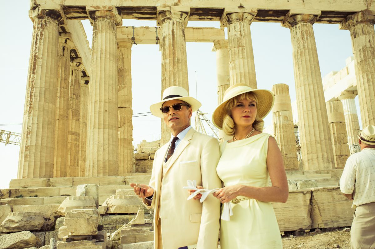 I due volti di gennaio: una suggestiva immagine di Viggo Mortensen e Kirsten Dunst tratta dal film