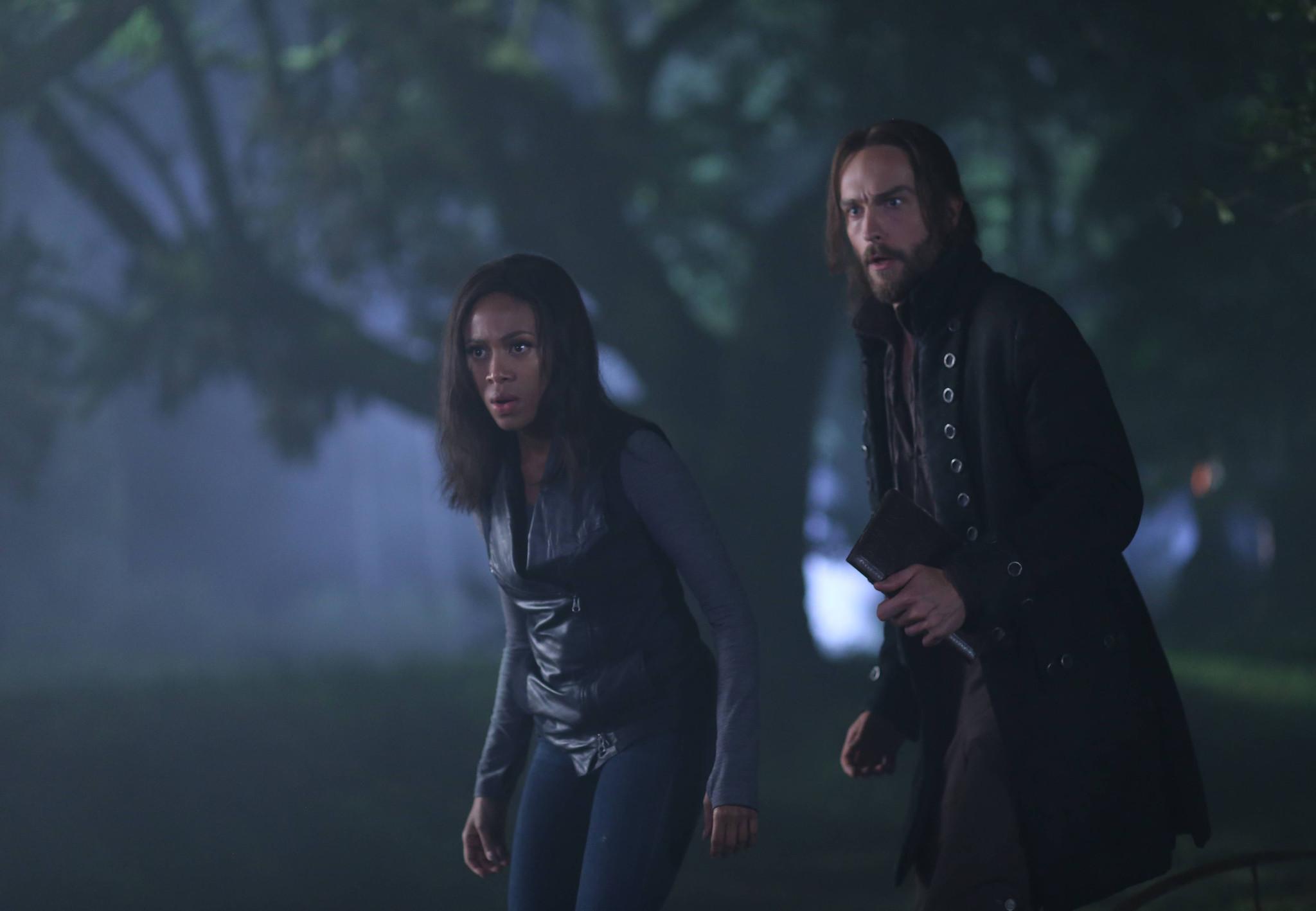 Sleepy Hollow: Nicole Beharie e Tom Mison nell'episodio The Kindred