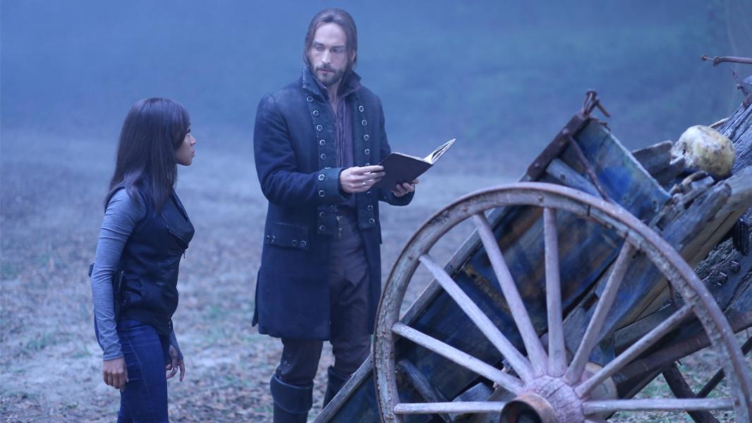Sleepy Hollow: un'immagine di Tom Mison e Nicole Beharie nell'episodio The Kindred