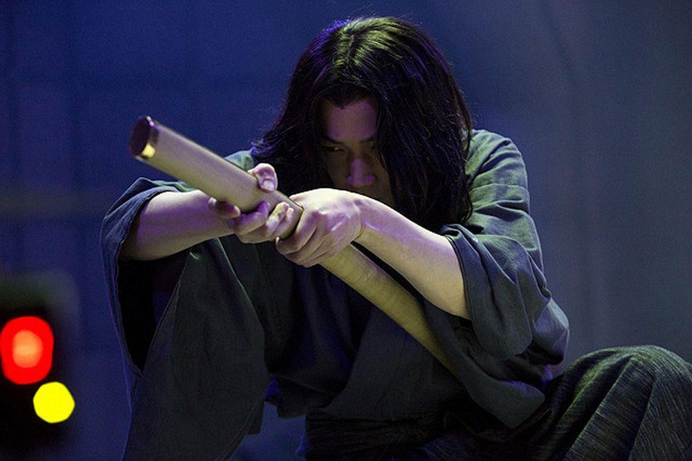 Lupin - Il Film: Go Ayano nel ruolo di Goemon in una foto promozionale