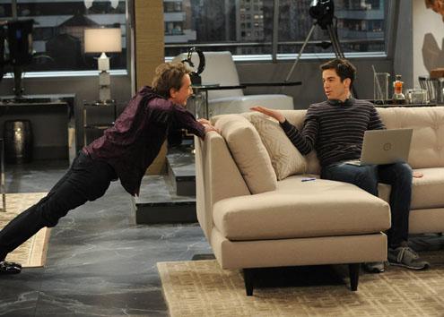 Mulaney: John Mulaney e Martin Short in una scena della premiere della serie