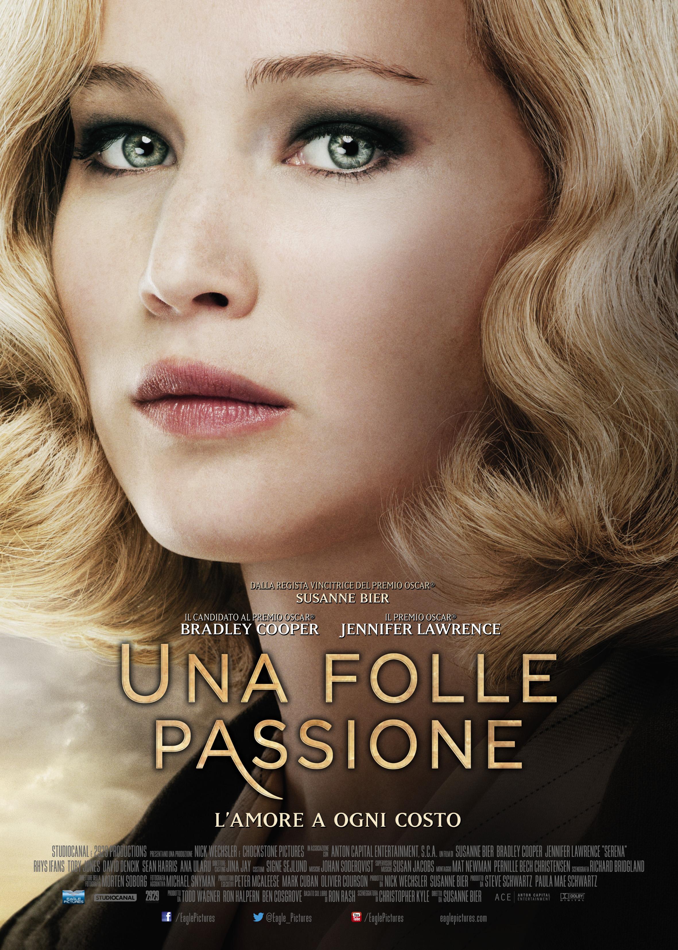 Una folle passione: il character poster del film con Jennifer Lawrence