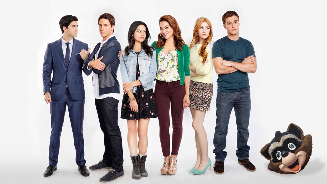 Happyland: il cast in un'immagine promozionale
