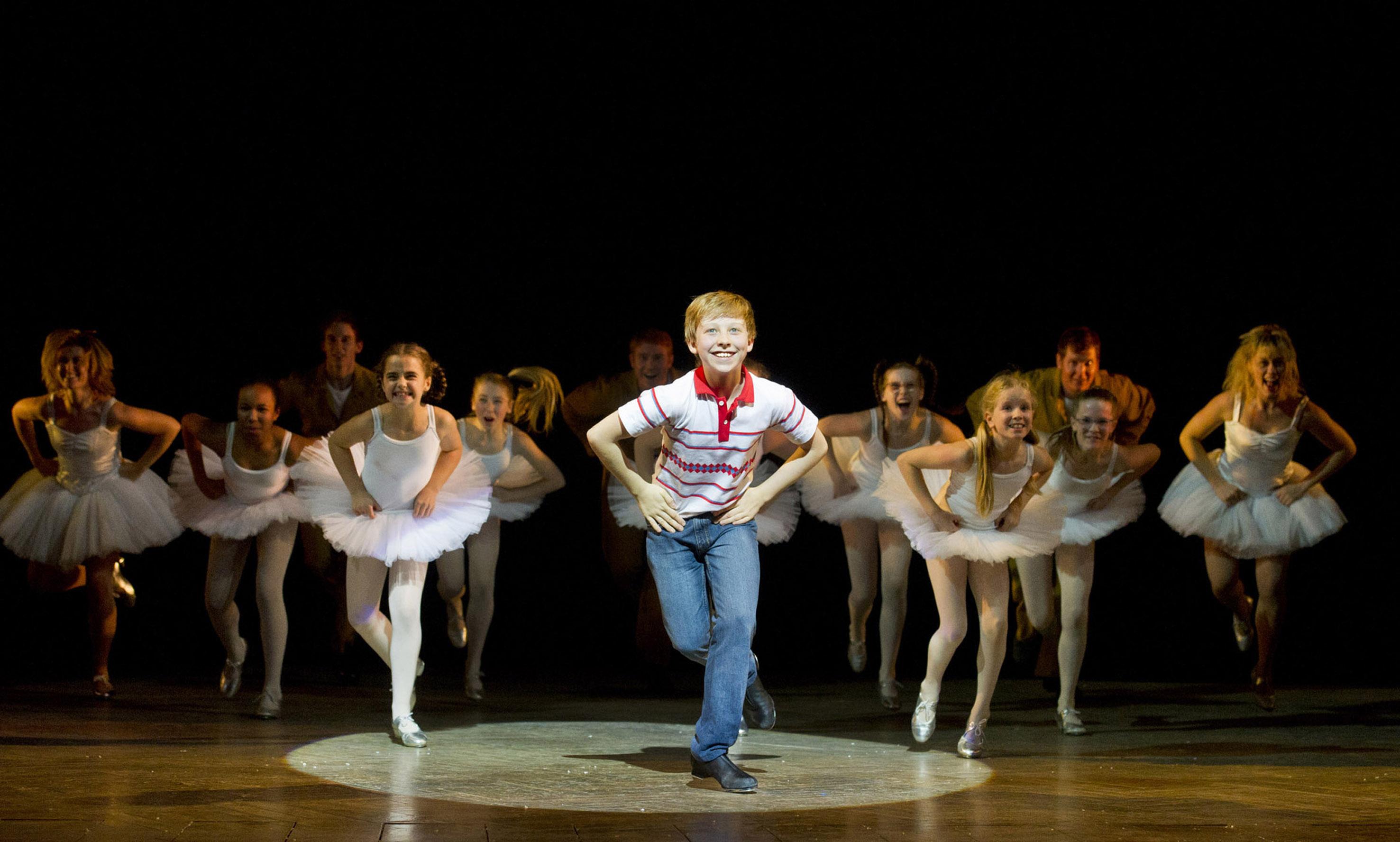 Billy Elliot - Il Musical: una scena del musical teatrale