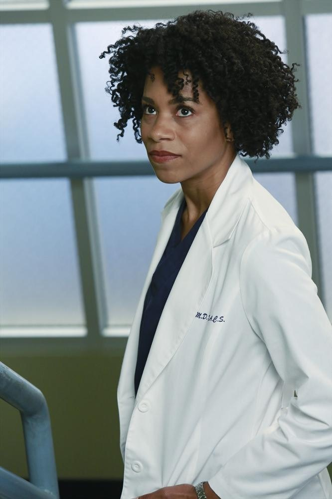Grey's Anatomy: l'attrice Kelly McCreary nella puntata Puzzle With a Piece Missing
