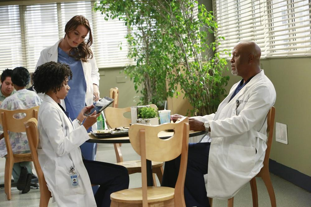 Grey's Anatomy: Kelly McCreary e James Pickens Jr. in Puzzle With a Piece Missing