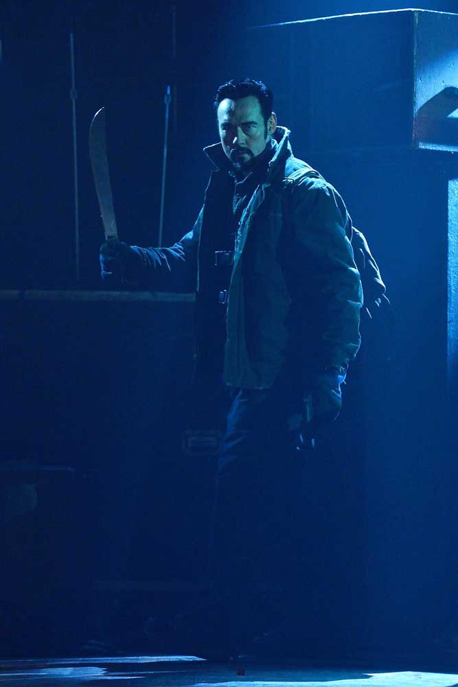 The Strain: l'attore Kevin Durand in The Master
