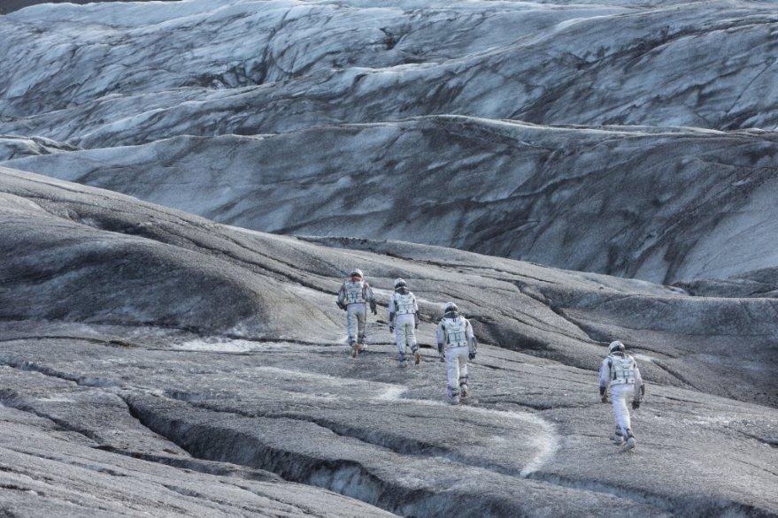 Interstellar: una suggestiva scena del film