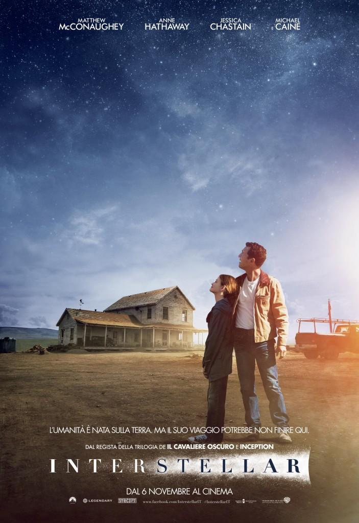 Interstellar: un teaser poster italiano del film fantascientifico