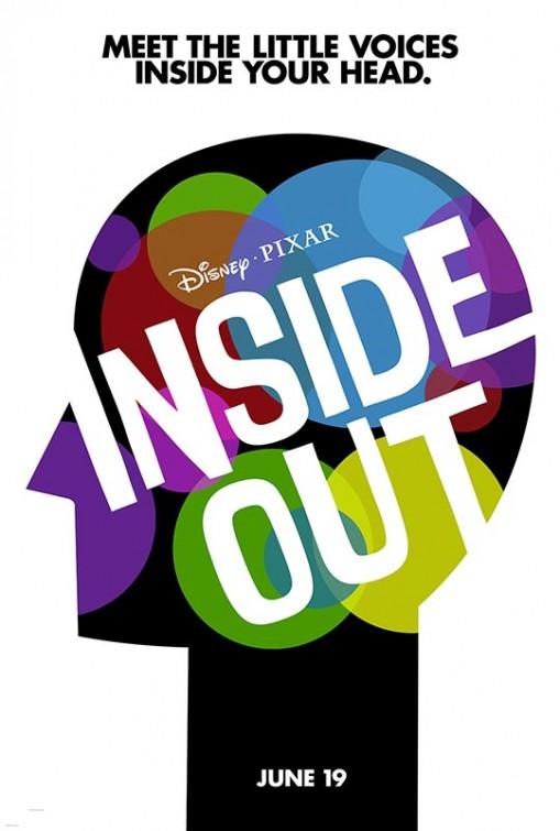 Una delle locandine originali di Inside Out