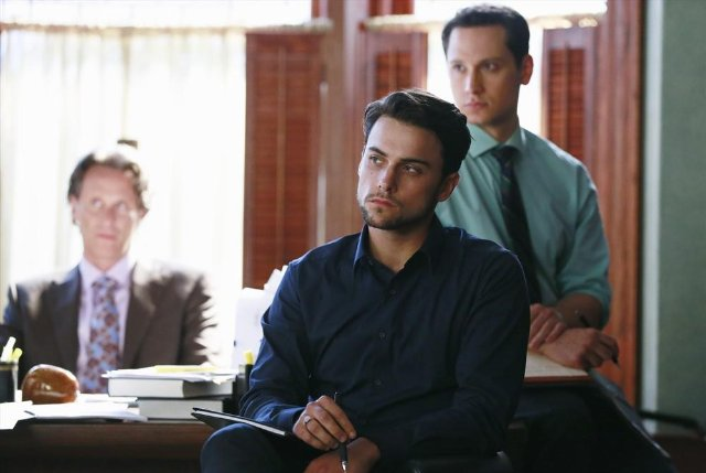 How to Get Away with Murder: Jack Falahee in una scena dell'episodio It's All Her Fault