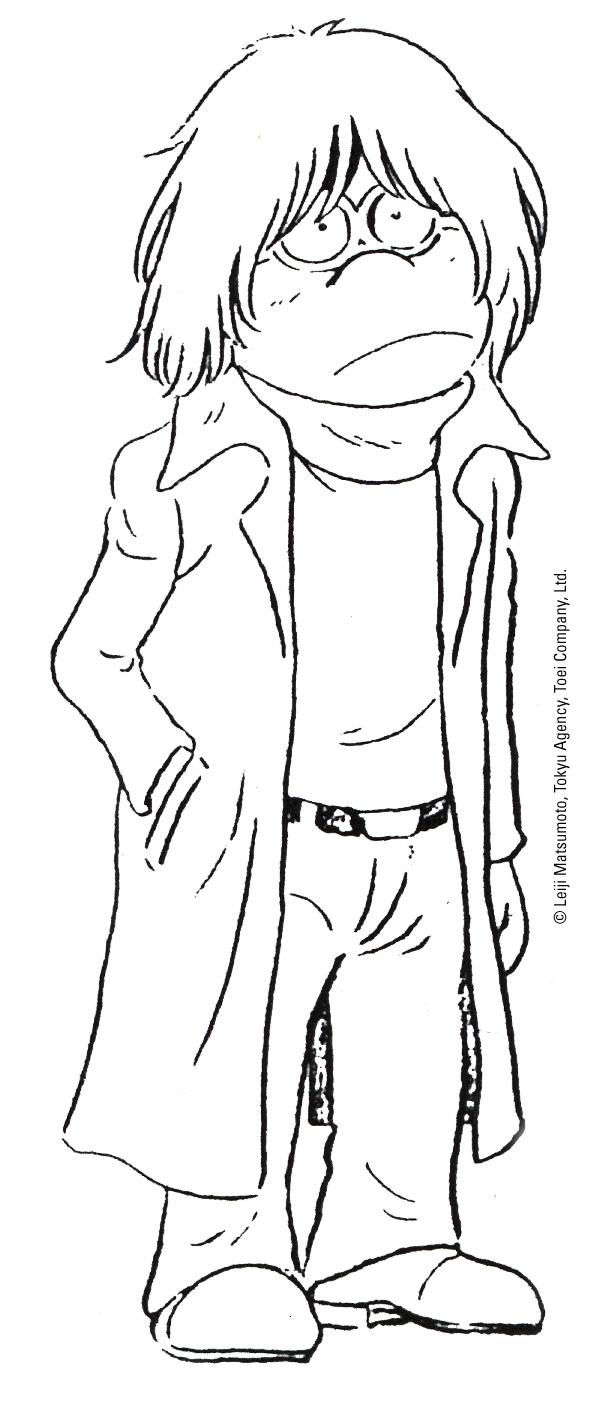 Capitan Harlock - L'Arcadia della mia Giovinezza: bozzetto preparatorio 1
