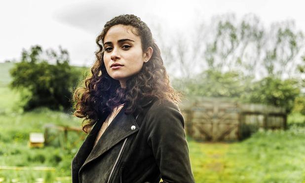 Glue: Yasmin Paige in una foto promozionale