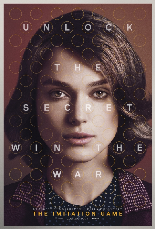 The Imitation Game: il character poster di Keira Knightley