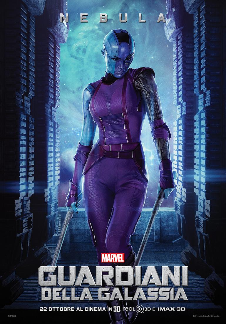 Guardiani della Galassia: il character poster italiano di Nebula (Karen Gillan)