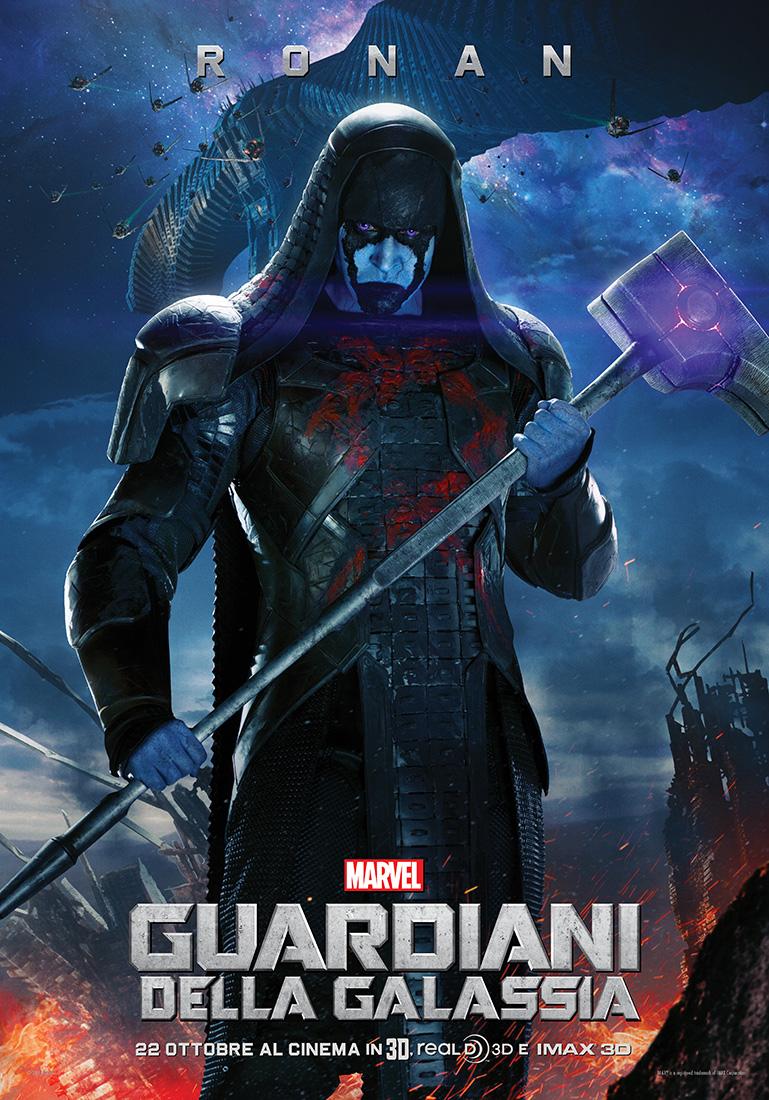 Guardiani della Galassia: il character poster italiano di Ronan (Lee Pace)