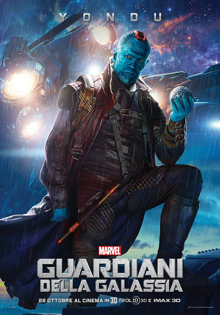 Guardiani della Galassia: il character poster italiano di Yondu (Michael Rooker)