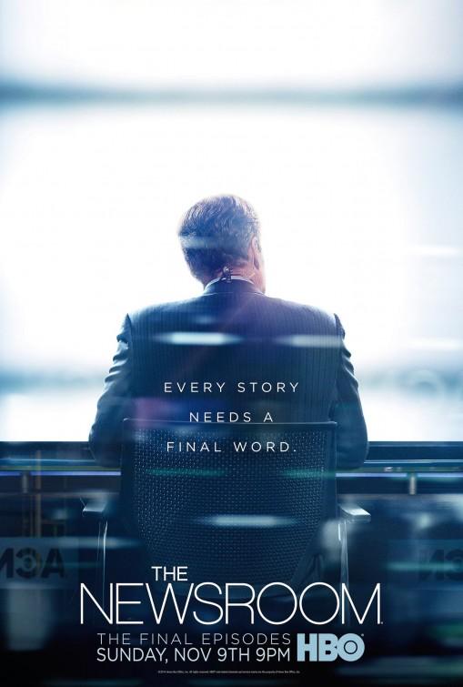 The Newsroom: un poster per l'ultima stagione
