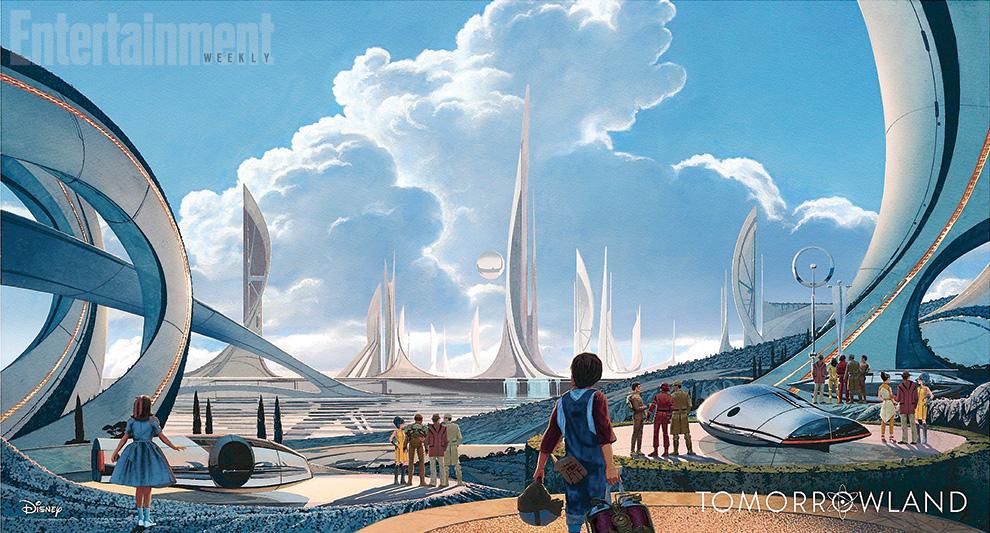 Tomorrowland una delle prime immagini del film diffuse da Empire Magazine