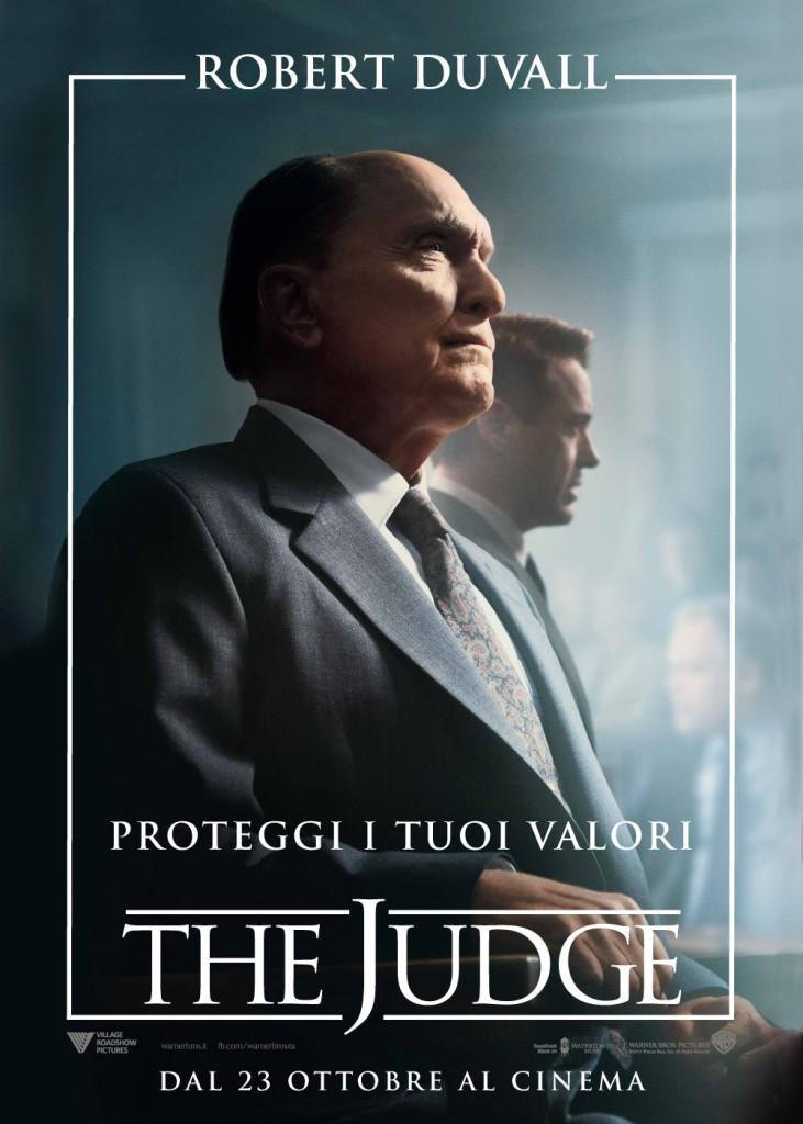 The Judge: il character poster italiano di Robert Duvall