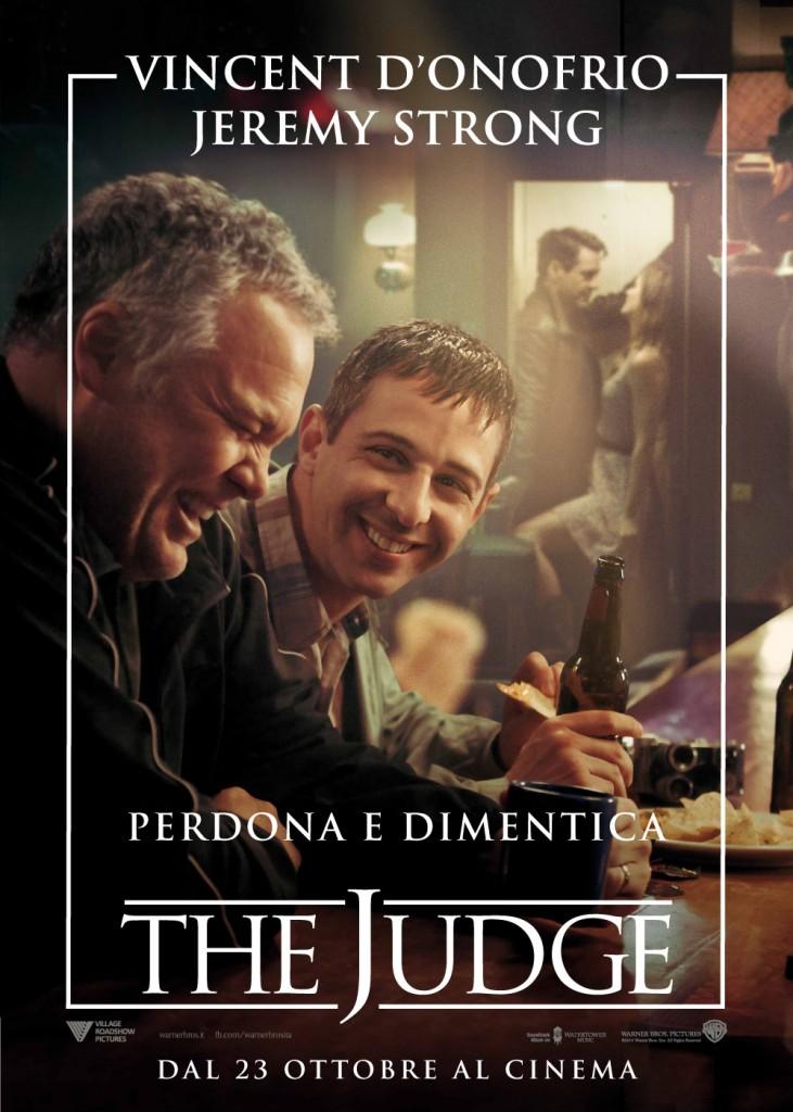 The Judge: il character poster italiano del film con Vincent D'Onofrio e Jeremy Strong