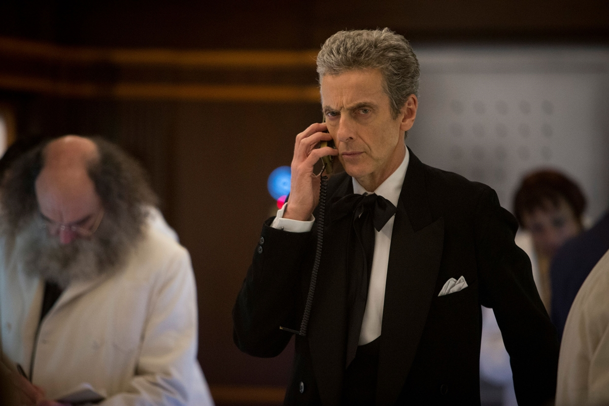 Doctor Who: l'attore Peter Capaldi in Mummy On The Orient Express