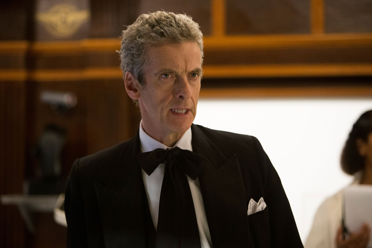 Doctor Who: Peter Capaldi in una foto della puntata Mummy On The Orient Express