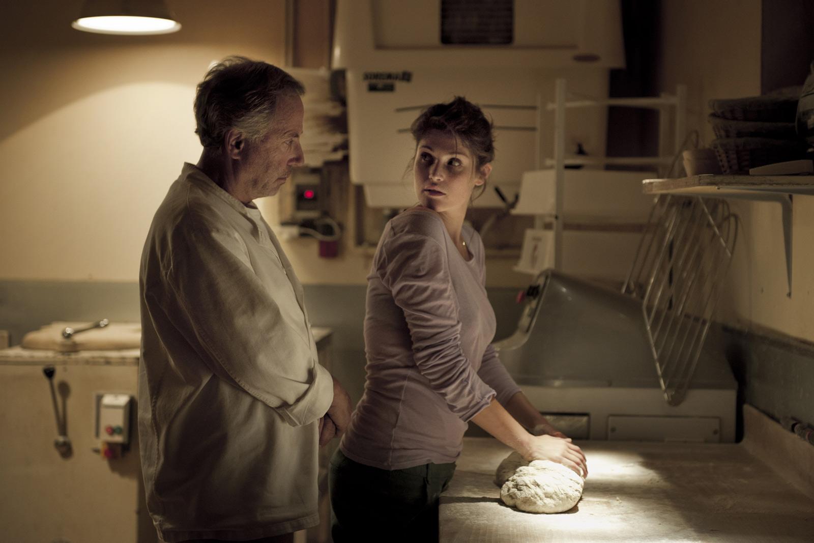 Gemma Arterton con Fabrice Luchini in Gemma Bovery