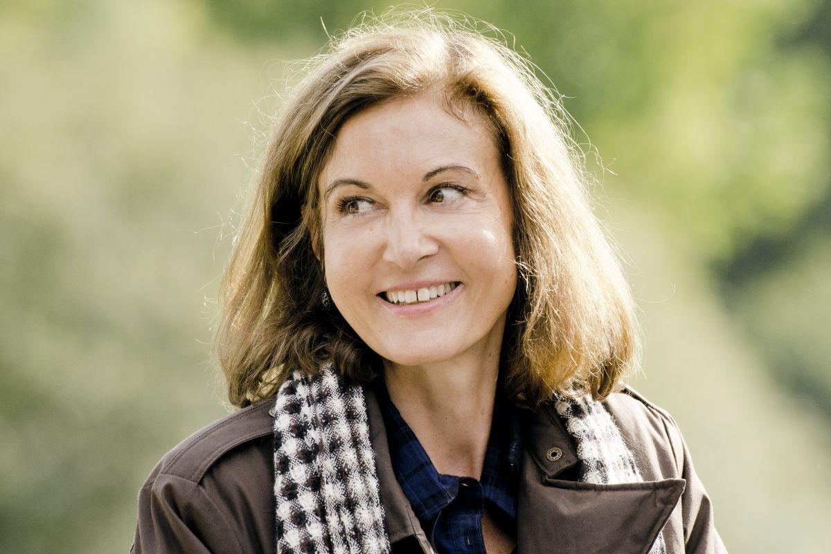 Gemma Bovery: la regista Anne Fontaine in una foto promozionale