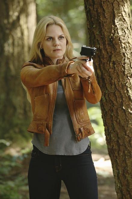 C'era una volta: Jennifer Morrison in una scena della puntata Rocky Road