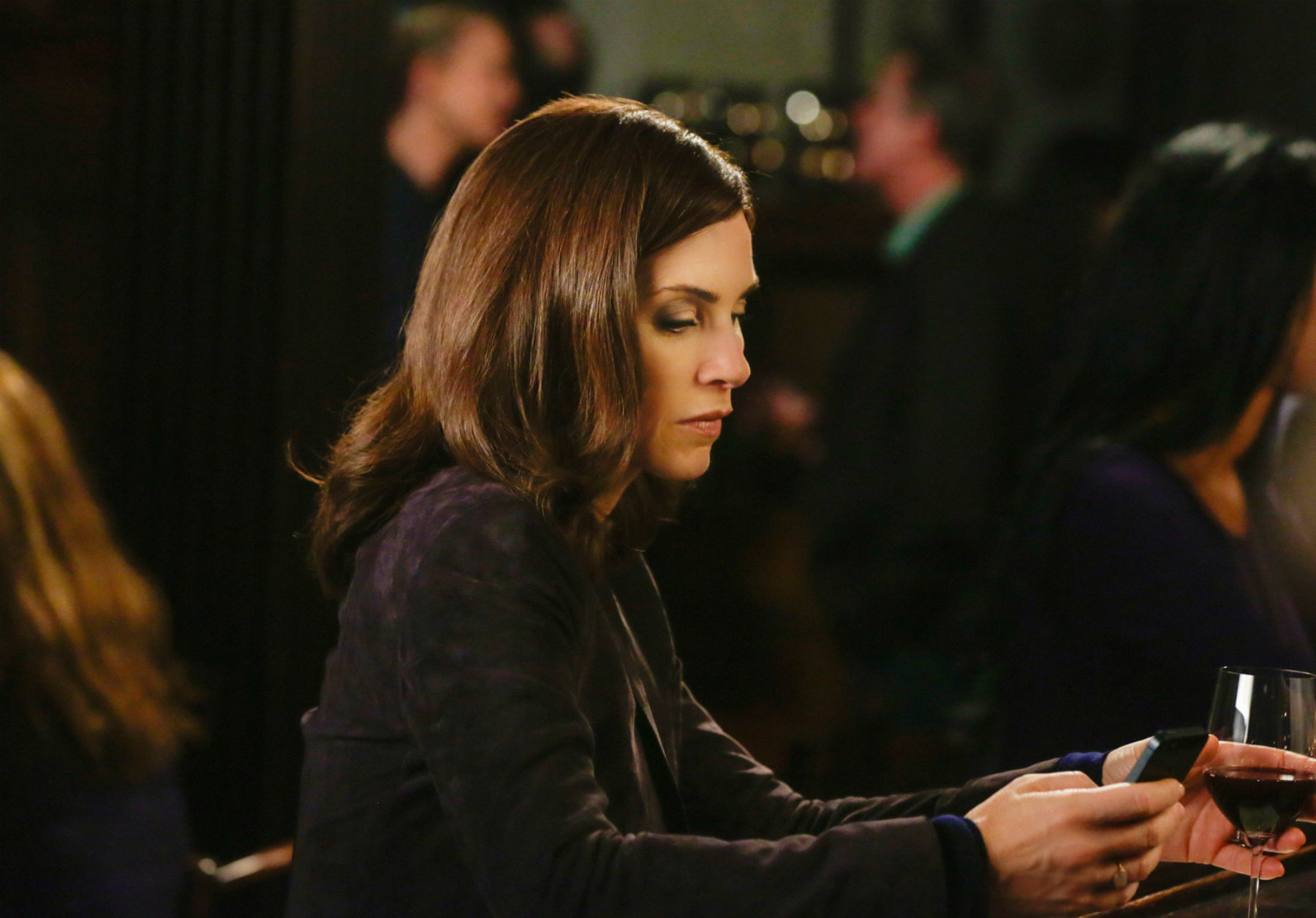 The Good Wife: l'attrice Julianna Margulies in Oppo Research