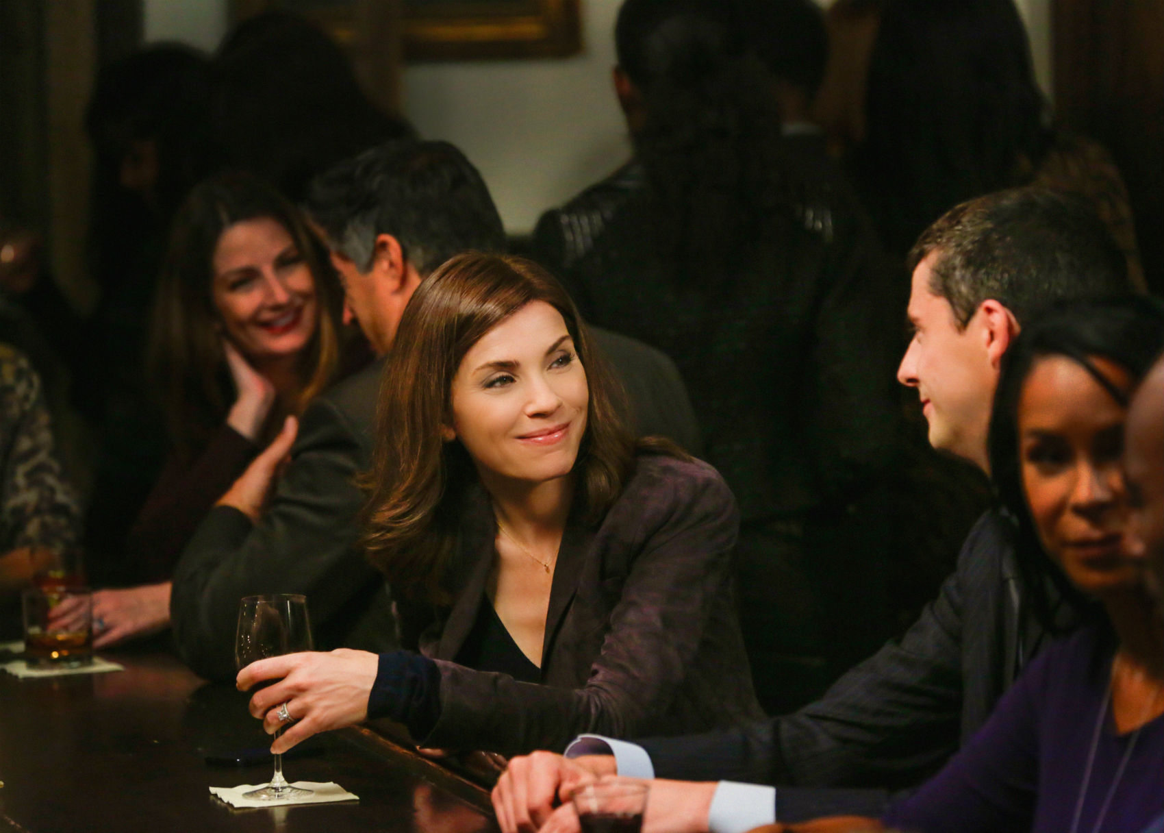 The Good Wife: Julianna Margulies in Oppo Research
