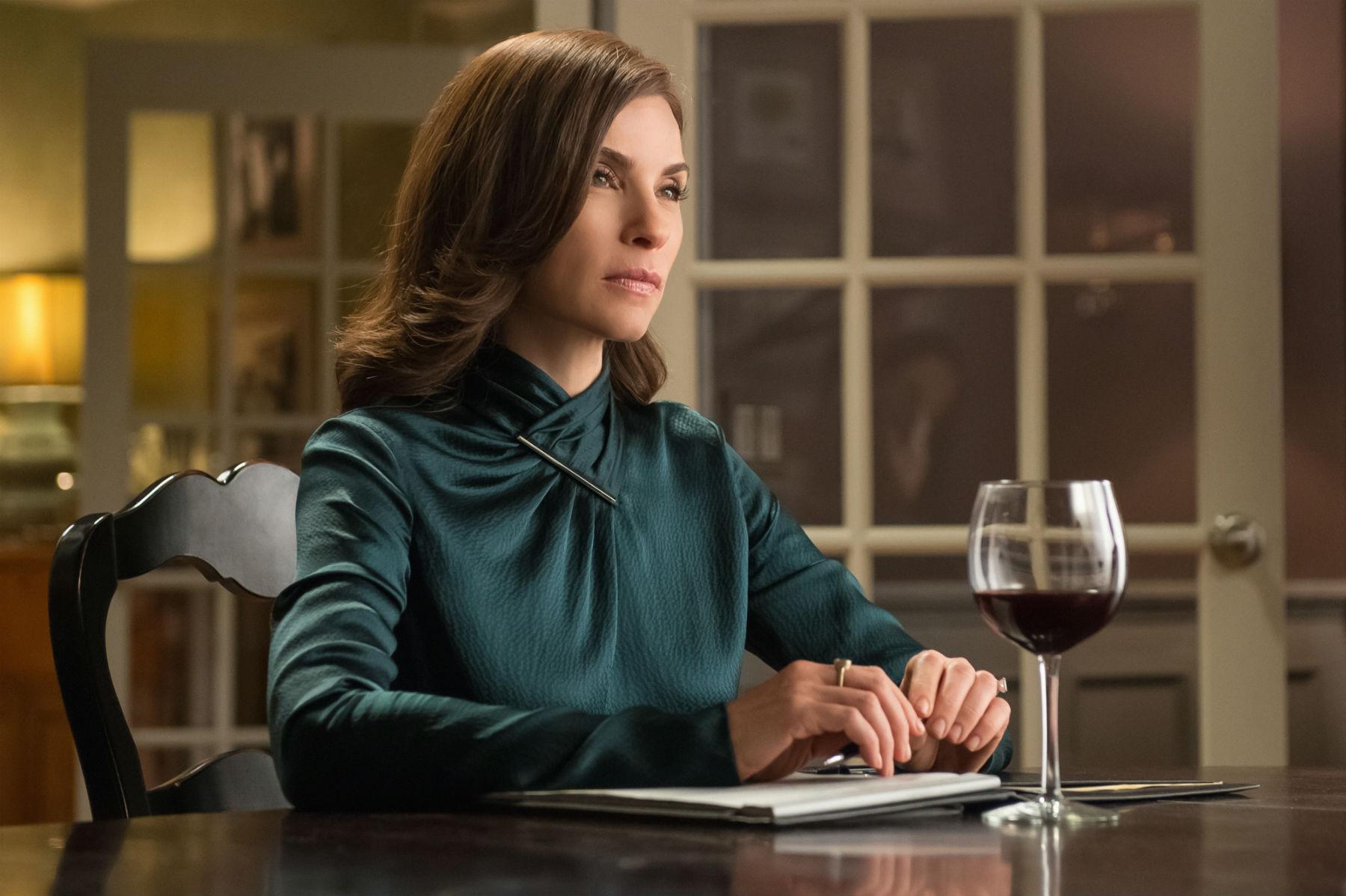 The Good Wife: Julianna Margulies in una scena dell'episodio Oppo Research