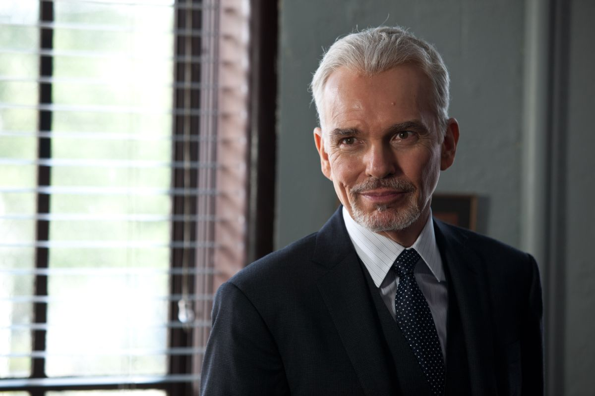 The Judge: Billy Bob Thornton in una scena del film