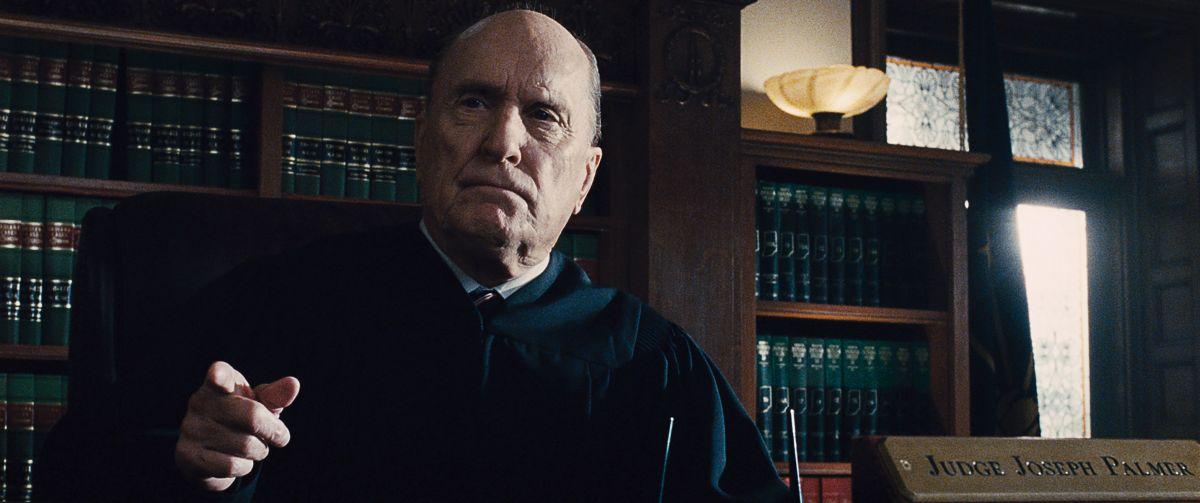 The Judge: Robert Duvall nei panni del giudice Joseph Palmer in una scena del film