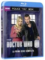 La cover blu-ray di Doctor Who - Stagione 1