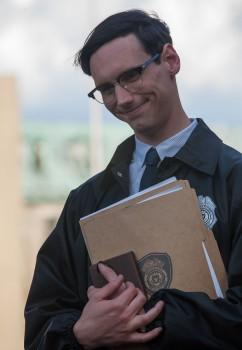 Gotham: l'attore Cory Michael Smith nella puntata intitolata Arkham
