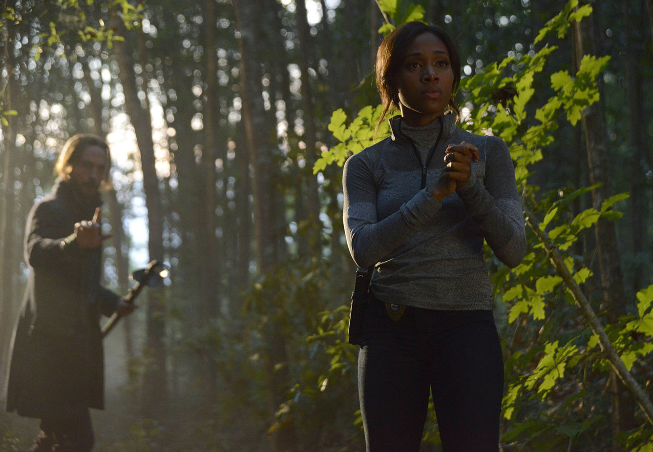 Sleepy Hollow: Tom Mison e Nicole Beharie in Go Where I Send Thee...