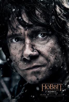 Lo Hobbit: La Battaglia delle Cinque Armate - Bilbo/Martin Freeman in un character poster