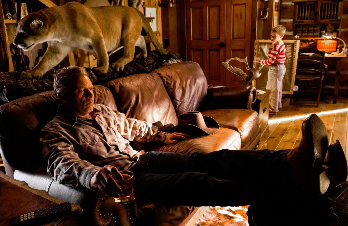 Lo straordinario viaggio di T.S. Spivet: Callum Keith Rennie in una scena del film