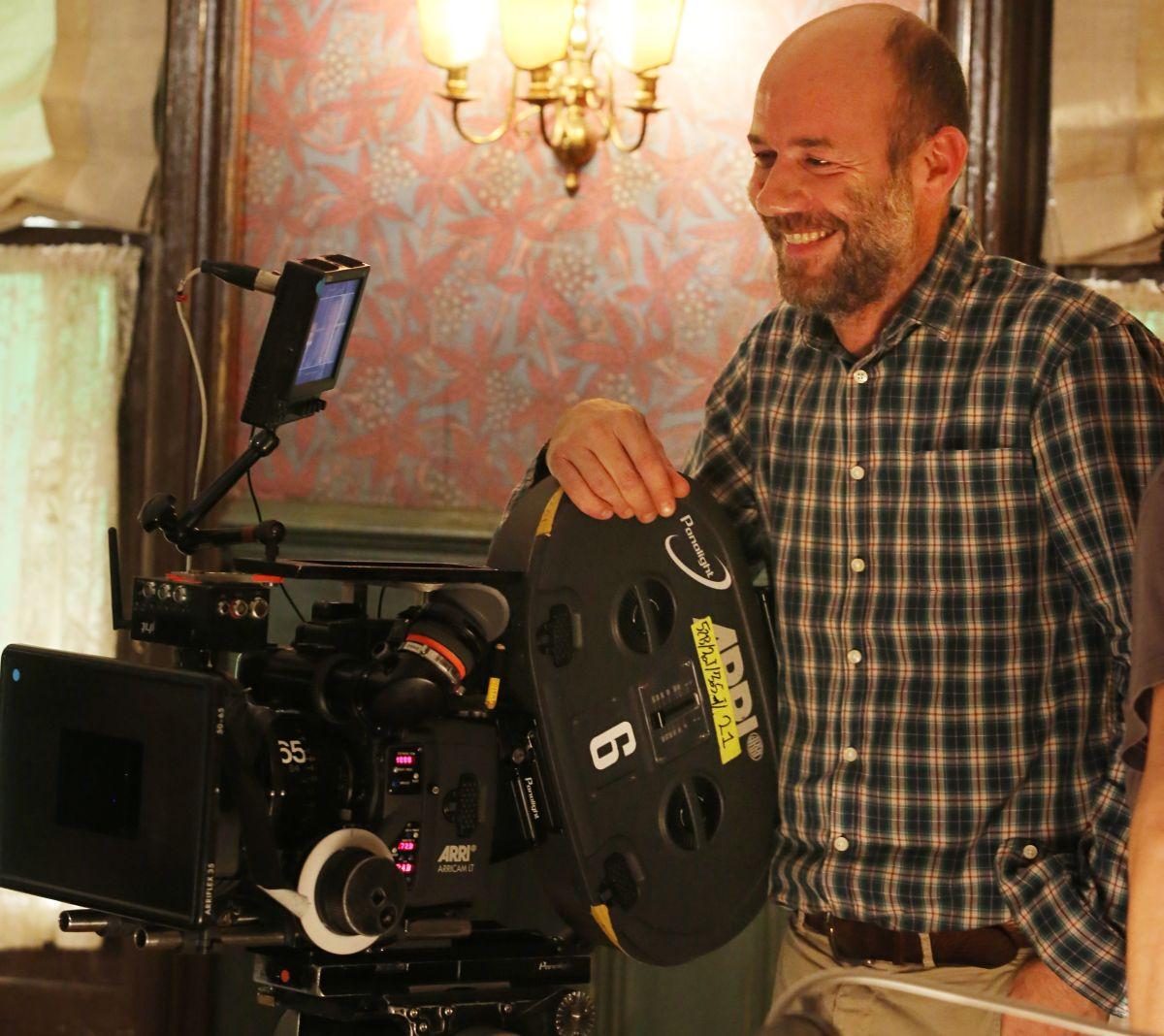 Soap Opera: il regista Alessandro Genovesi in una foto dal set
