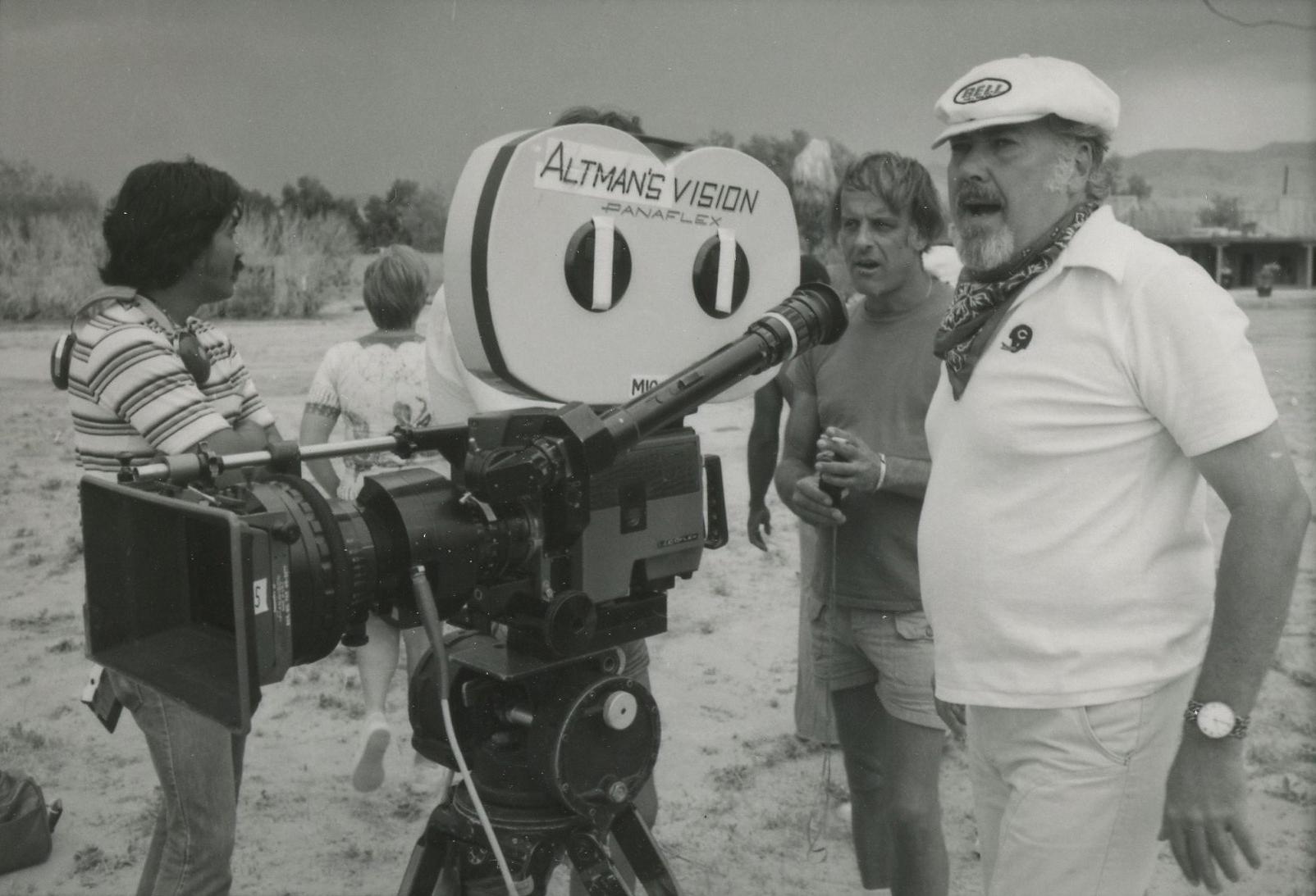 Altman: una scena del documentario dedicato al grande regista