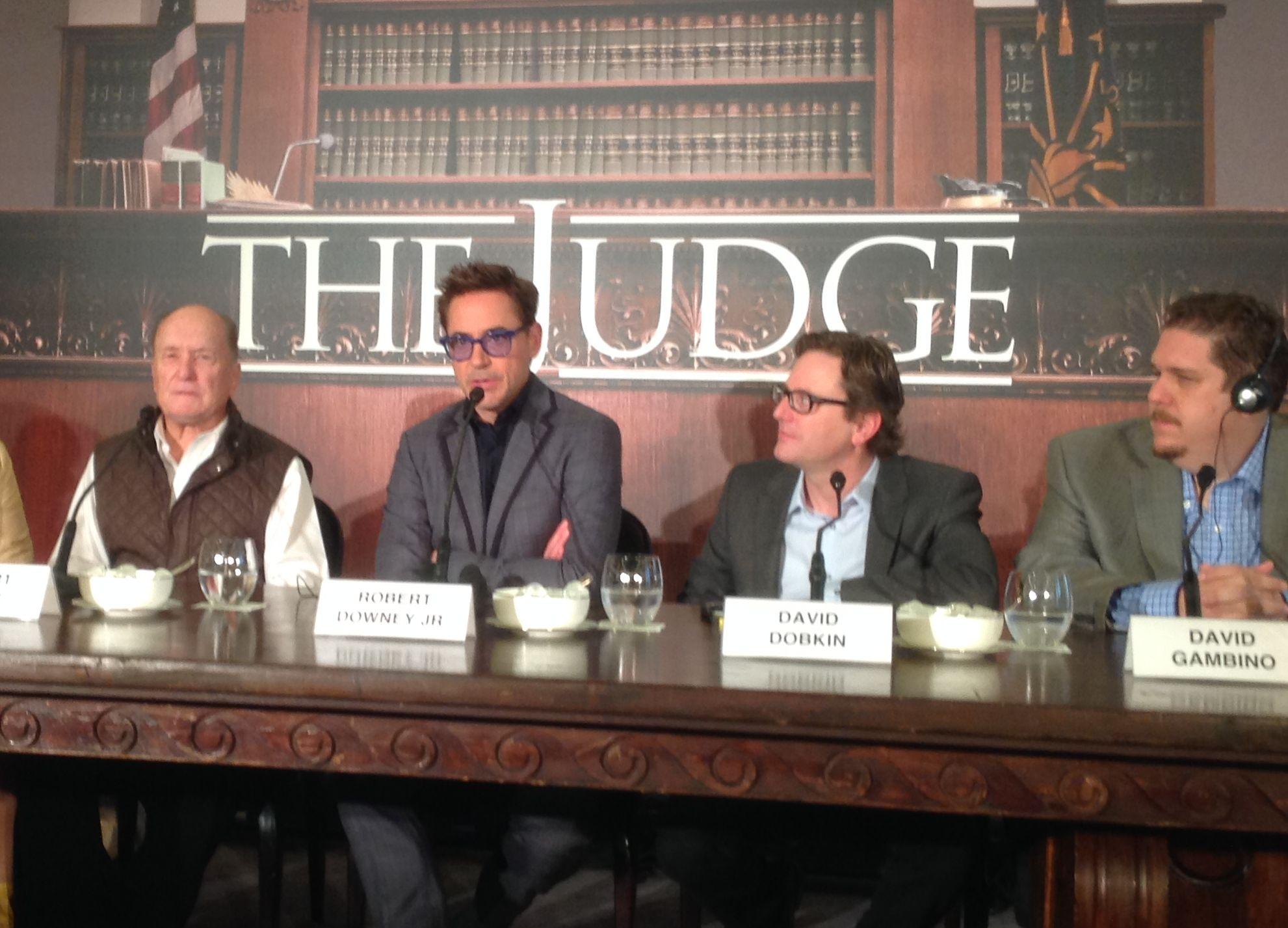 The Judge: Robert Downey jr. e David Dobkin alla conferenza di Roma