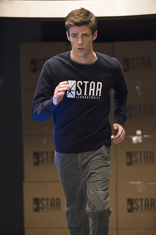 The Flash: Grant Gustin interpreta Barry Allen in Fastest Man Alive