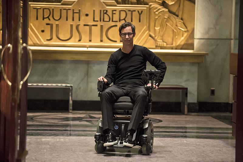 The Flash: l'attore Tom Cavanagh in Fastest Man Alive