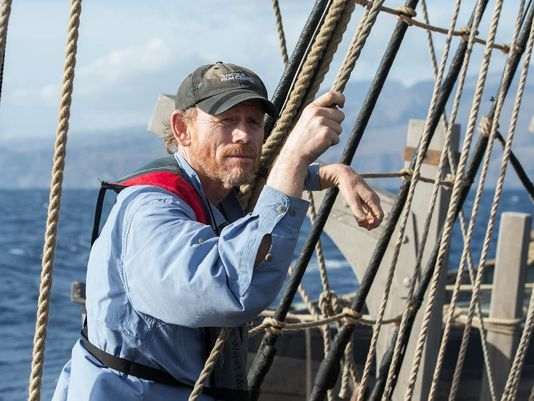 In the heart Of The Sea: il regista Ron Howard aggrappato alle corde delle vele