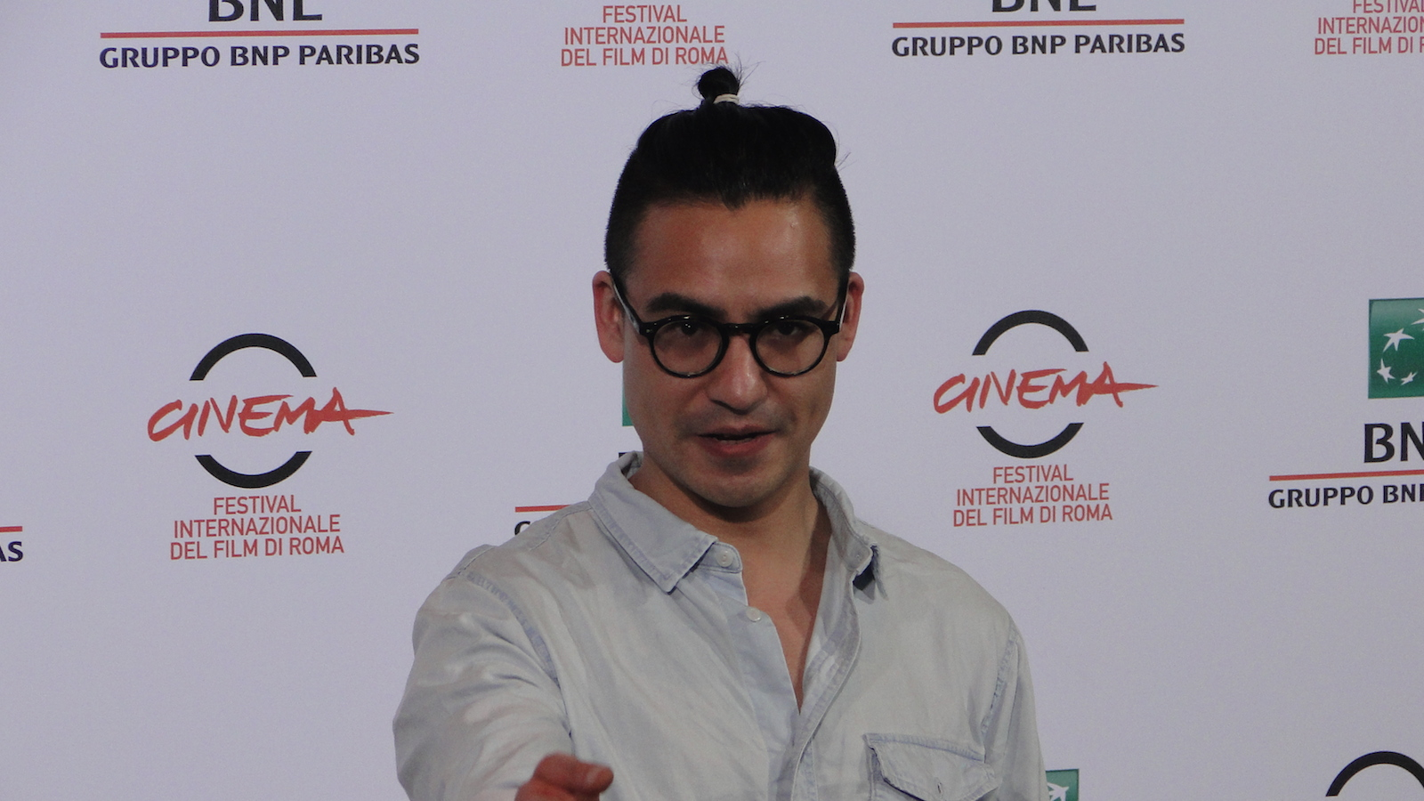 Roma 2014: il regist Burhan Qurbani al photocall di We are Young. We are Strong