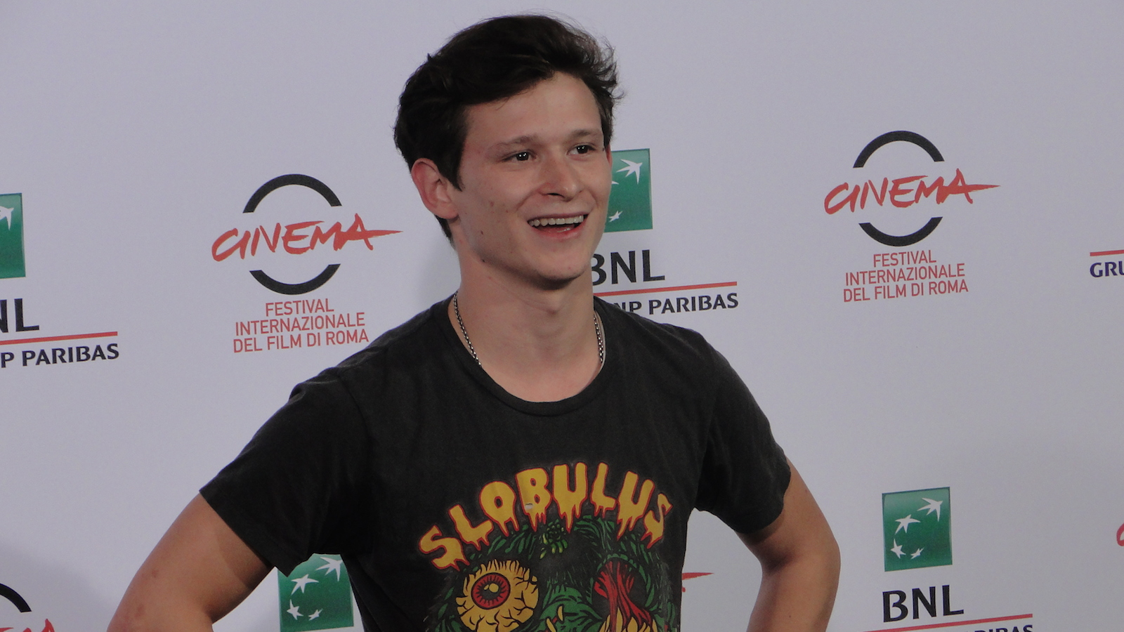 Roma 2014: Joel Basman al photocall di We are Young. We are Strong